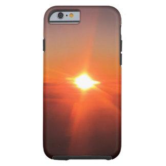 Coque iPhone 6 Tough Coucher du soleil d'une couverture d'IPhone