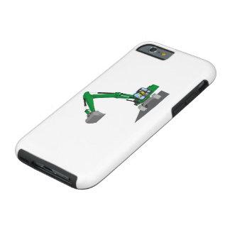 Coque iPhone 6 Tough excavatrice de chaîne verte