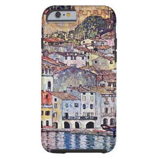 Coque iPhone 6 Tough Gustav Klimt - Malcesine au policier Italie de lac