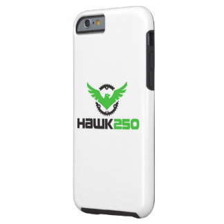 Coque iPhone 6 Tough iPhone 6/6s, caisse dure du faucon 250 de vert de