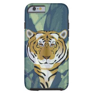 Coque iPhone 6 Tough iPhone 6/6s, cas dur de tigre de téléphone