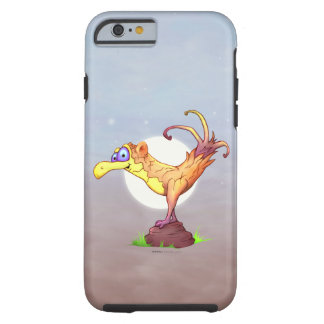 Coque iPhone 6 Tough iPhone 6/6s de BANDE DESSINÉE d'OISEAU de COUCOU