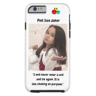 Coque iPhone 6 Tough Joker de taille de pinte : Obstruction sur le