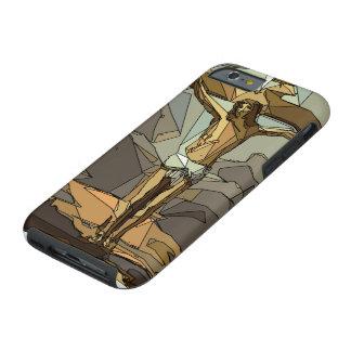 Coque iPhone 6 Tough Le Christ pour nous - iPhone 6/6s, cas dur de