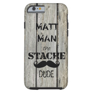 Coque iPhone 6 Tough M. Moustache Hipster Pattern