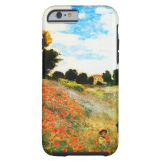 Coque iPhone 6 Tough Monet-Pavots de Claude à Argenteuil