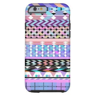 Coque iPhone 6 Tough Motif aztèque coloré Girly