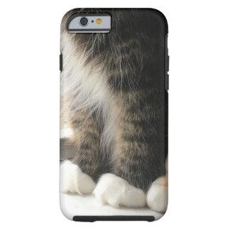 Coque iPhone 6 Tough Pattes pelucheuses de chat