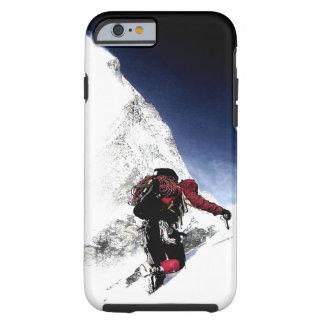 Coque iPhone 6 Tough Sports d'extrémité de grimpeur de montagne