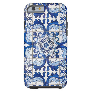 Coque iPhone 6 Tough Tuiles vitrées par Azulejo de Portugais