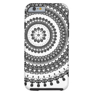 Coque iPhone 6 Tough Ukrainien ornemental floral folklorique tribal de