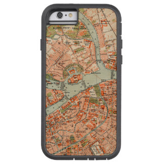 Coque iPhone 6 Tough Xtreme Carte de St Petersburg