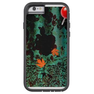 Coque iPhone 6 Tough Xtreme Cas abstrait de téléphone de Goth de marais de
