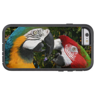 Coque iPhone 6 Tough Xtreme Faune d'animal d'oiseaux de perroquet d'ara