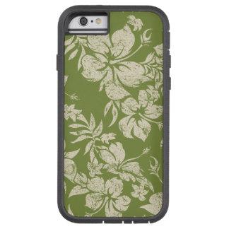 Coque iPhone 6 Tough Xtreme Floral hawaïen de Pareau de ketmie