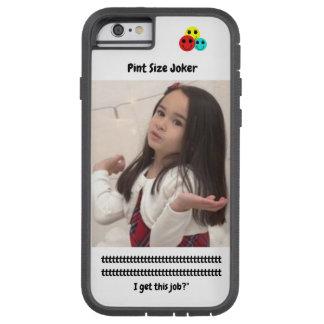 Coque iPhone 6 Tough Xtreme Joker de taille de pinte : Le père noël travaille