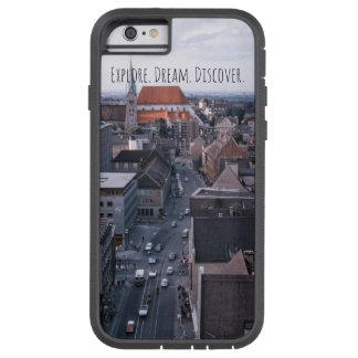 Coque iPhone 6 Tough Xtreme La vue de ville, explorent la rue au-dessous de la