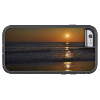 Coque iPhone 6 Tough Xtreme Lever de soleil à la plage par Shirley Taylor