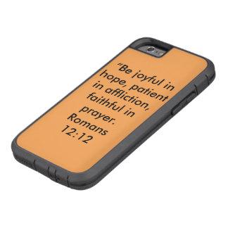 """Coque iPhone 6 Tough Xtreme """"Soyez"""" cas dur joyeux de téléphone portable"""