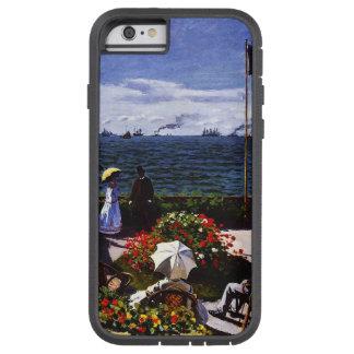 Coque iPhone 6 Tough Xtreme Terrasse de Claude Monet-The chez Sainte-Adresse
