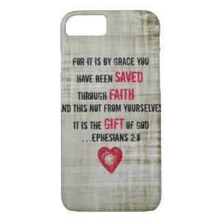 Coque iPhone 7 2:8 d'Ephesians de vers de bible