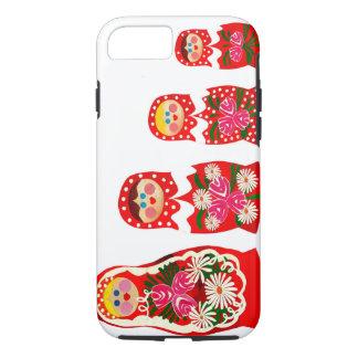 Coque iPhone 7 3 poupées russes BABUSHKA