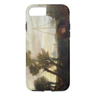 Coque iPhone 7 Abbaye de Newark, 1807 (huile sur la toile)