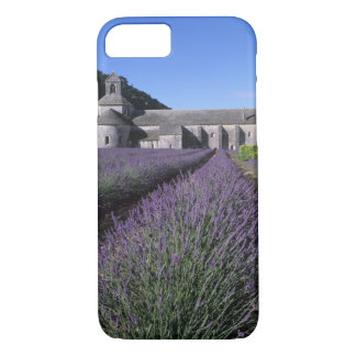 Coque iPhone 7 Abbaye de Senanque, Gordes, Vaucluse, Provence,