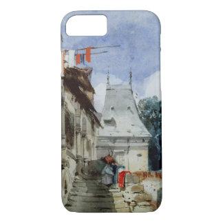 Coque iPhone 7 Abbaye St-Amand, Rouen (la semaine, bodycolour et