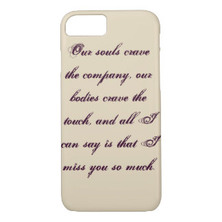 Coque iPhone 7 Affection