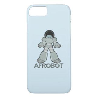 Coque iPhone 7 Afrobot - robot avec l'Afro