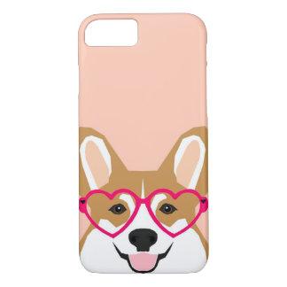 Coque iPhone 7 Amour de corgi - corgi de Gallois drôle