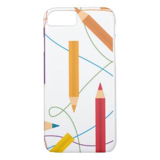 Coque iPhone 7 Amour de couleur