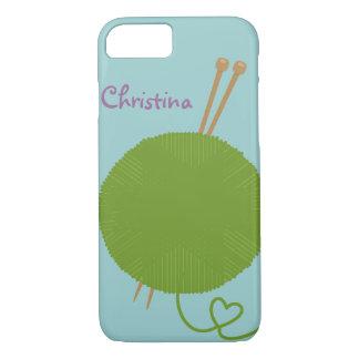 Coque iPhone 7 Amour pour tricoter la conception