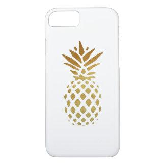 Coque iPhone 7 Ananas d'or, fruit en or