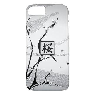 Coque iPhone 7 Arbre blanc de fleurs de cerisier