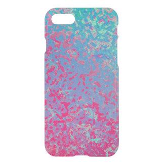 Coque iPhone 7 arrière - plan corrodé coloré de cas de l'iPhone 7