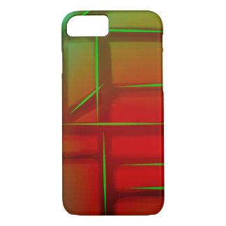 Coque iPhone 7 Art numérique abstrait géométrique