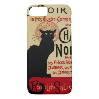 Coque iPhone 7 Art vintage Nouveau, Le Chat Noir