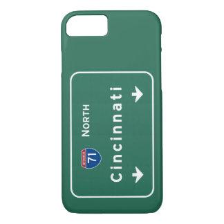 Coque iPhone 7 Autoroute d'autoroute nationale de Cincinnati Ohio