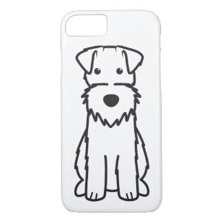 Coque iPhone 7 Bande dessinée de chien de Fox Terrier de fil
