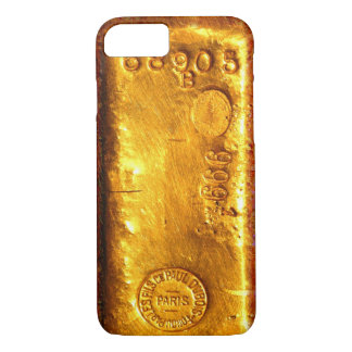 Coque iPhone 7 Barre d'or
