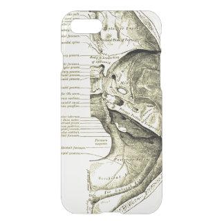Coque iPhone 7 Base vintage de l'anatomie | de la surface