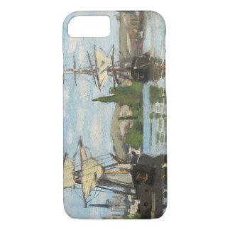 Coque iPhone 7 Bateaux de Claude Monet | montant sur la Seine à