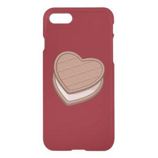 Coque iPhone 7 Biscuit de coeur