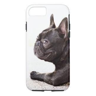 Coque iPhone 7 Bouledogue français