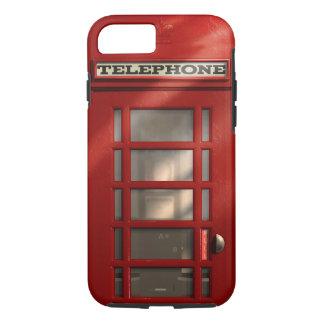Coque iPhone 7 Cabine téléphonique rouge britannique vintage