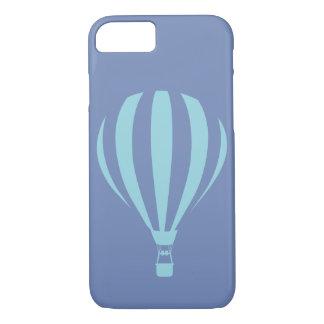 Coque iPhone 7 Caisse chaude bleue de l'iPhone 7 de ballon à air