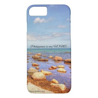 Coque iPhone 7 Caisse de portable qui dépeint les Philippines
