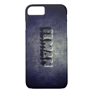 Coque iPhone 7 Caisse graphique en acier fraîche de l'iphone 7 de